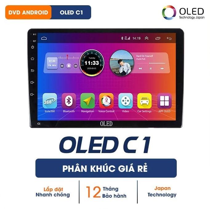 màn hình dvd android oled c1 giá rẻ