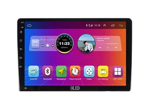 màn hình ô tô dvd android oled c1