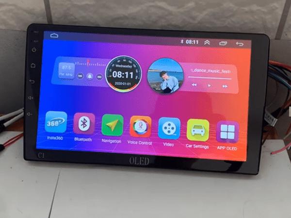 màn hình oled c1s hỗ trợ điều khiển giọng nói oled ai