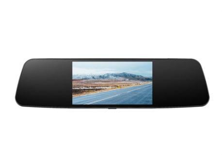 camera hành trình gương blurams 2 mắt trước sau gps adas wifi