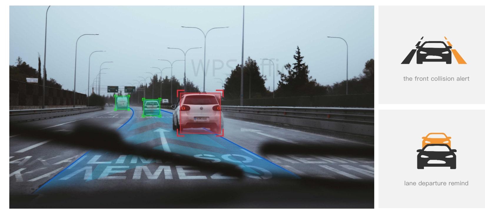 hệ thống cảnh báo giao thông ADAS