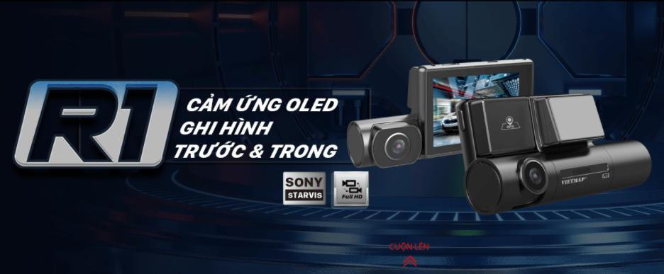 camera hành trình ghi hình trước và trong xe
