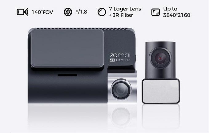 camera hành trình ghi hình 4k