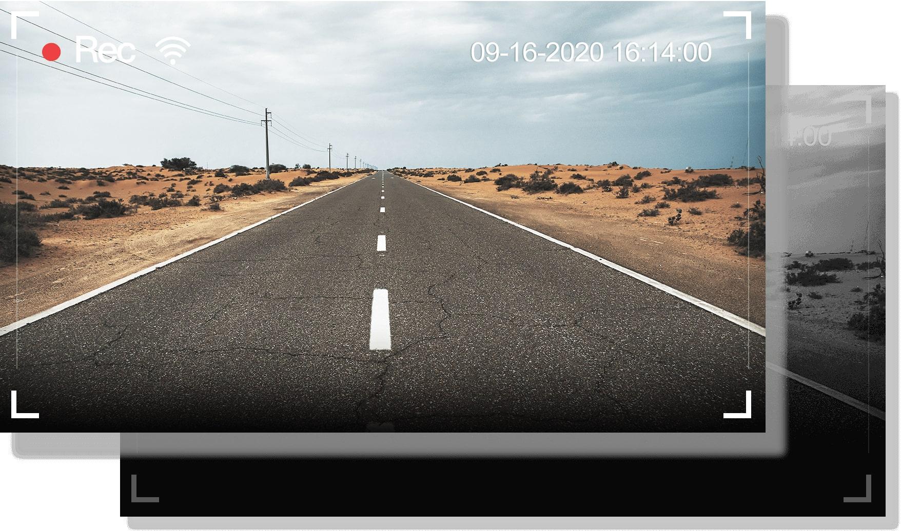 ghi hình với thông tin tốc độ tọa độ khi có gps