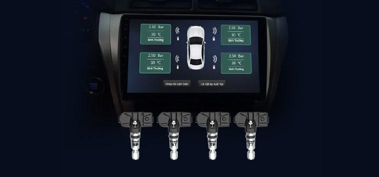 bảo vệ lốp xe, giảm thiểu tai nạn giao thông với bộ cảm biến vietmap v1ai chính hãng