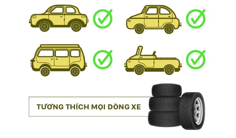 có thể lắp đặt cảm biến áp suất lốp vietmap ai trên mọi dòng xe hơi hiện nay
