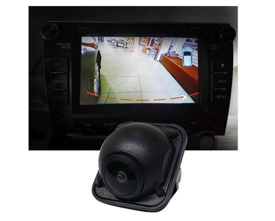 camera quan sát hông xe ghi hình góc rộng
