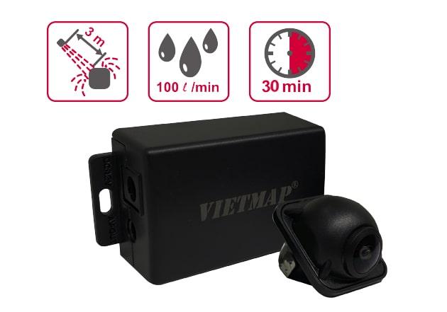 vietmap rc01 có khả năng chống nước, chống bụi bẩn tốt
