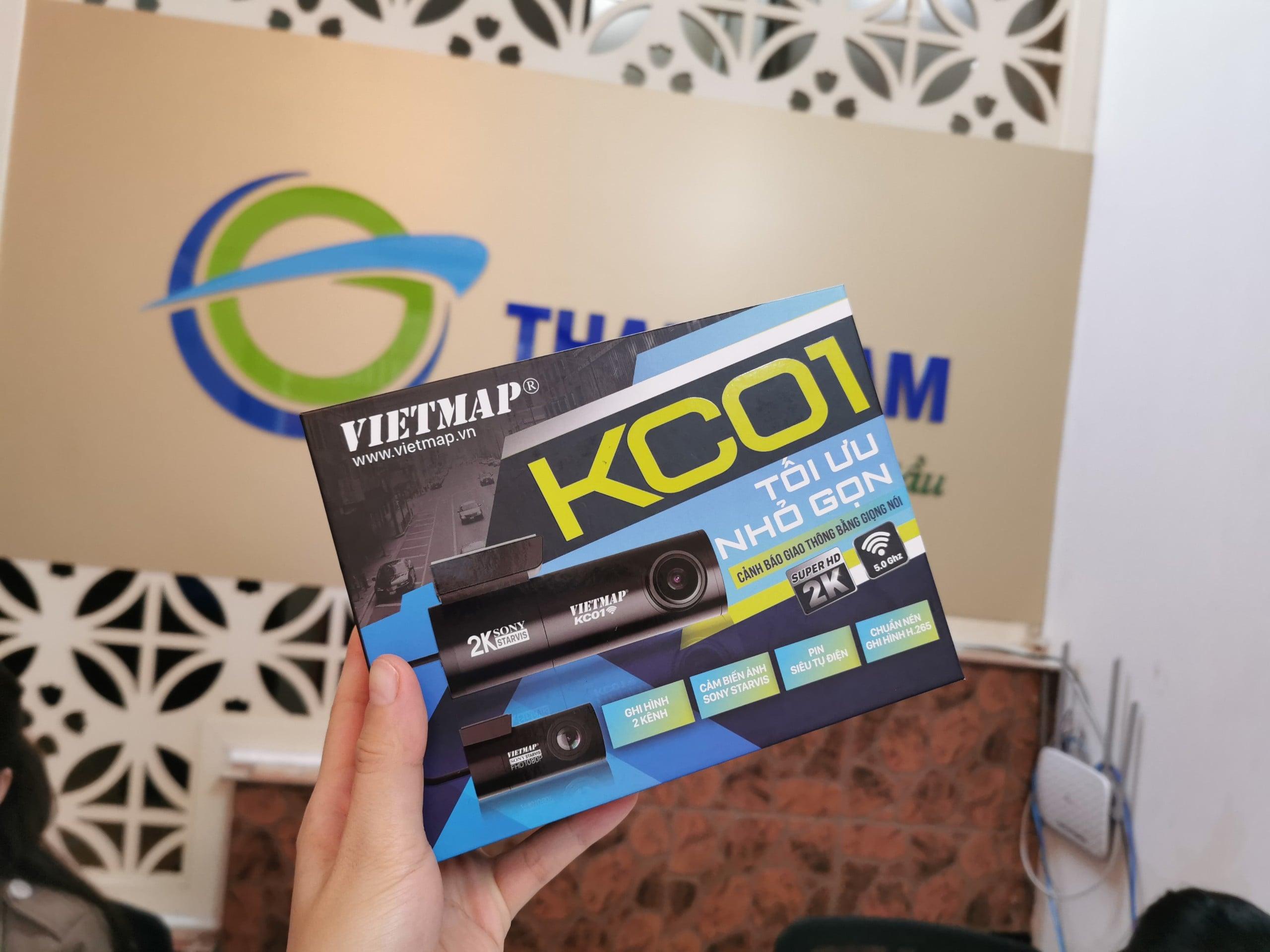 mua camera hành trình vietmap kc01 pro chính hãng tại thành nam gps
