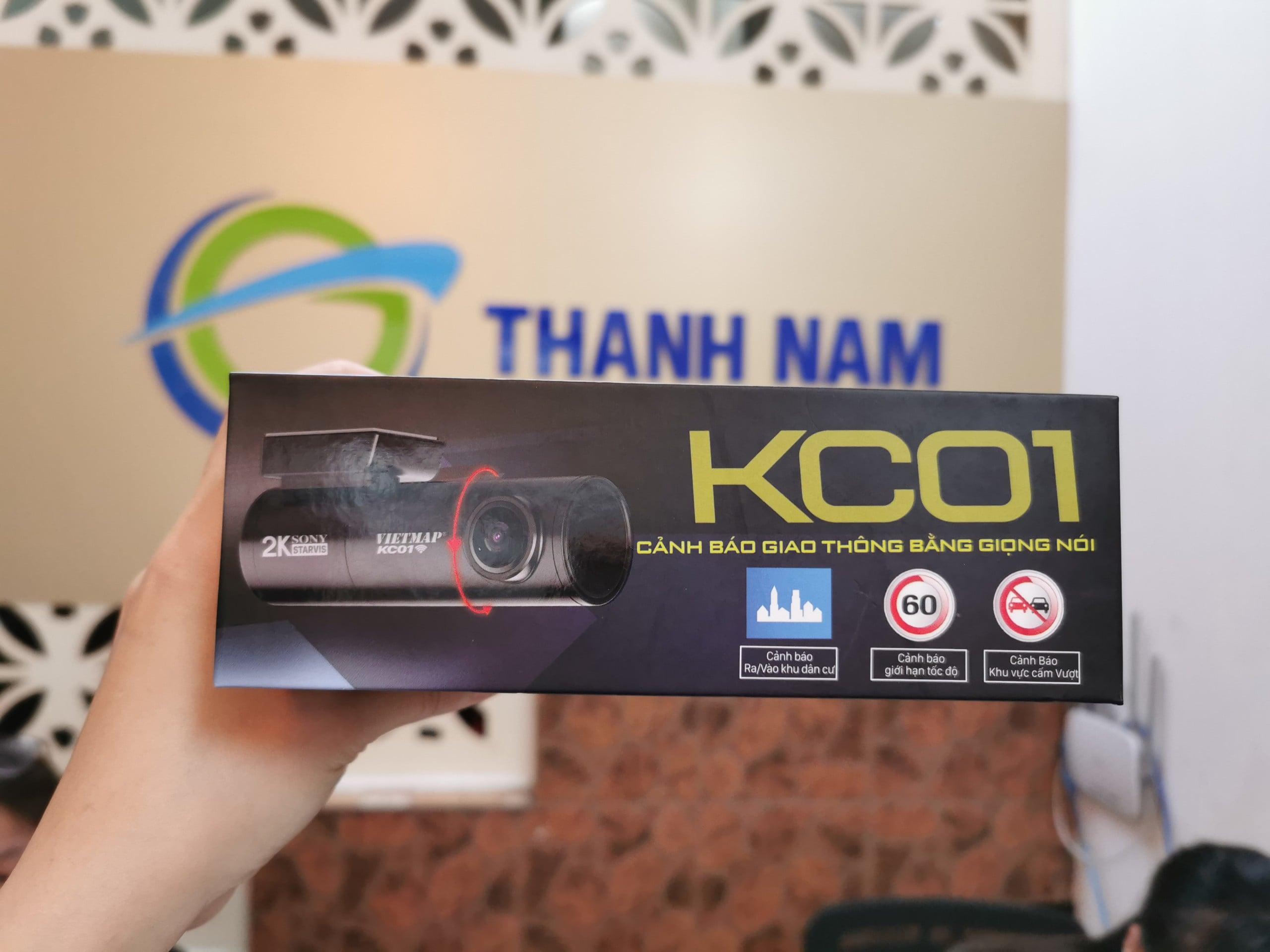 lắp đặt camera cảnh báo giao thông kc01 pro