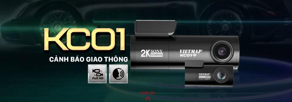camera hành trình cảnh báo tốc độ vietmap kc01 pro
