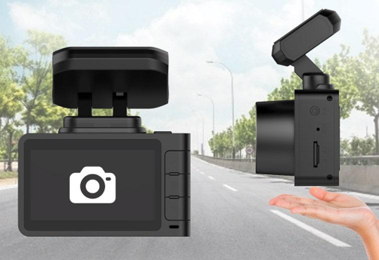 camera hành trình ô tô ghi hình nhanh bằng cảm biến cử chỉ