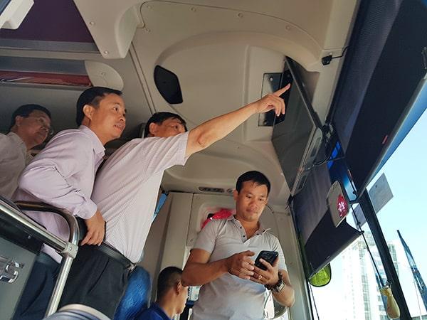 kiểm tra công tác lắp đặt camera cho phương tiện vận tải theo nghị định 10