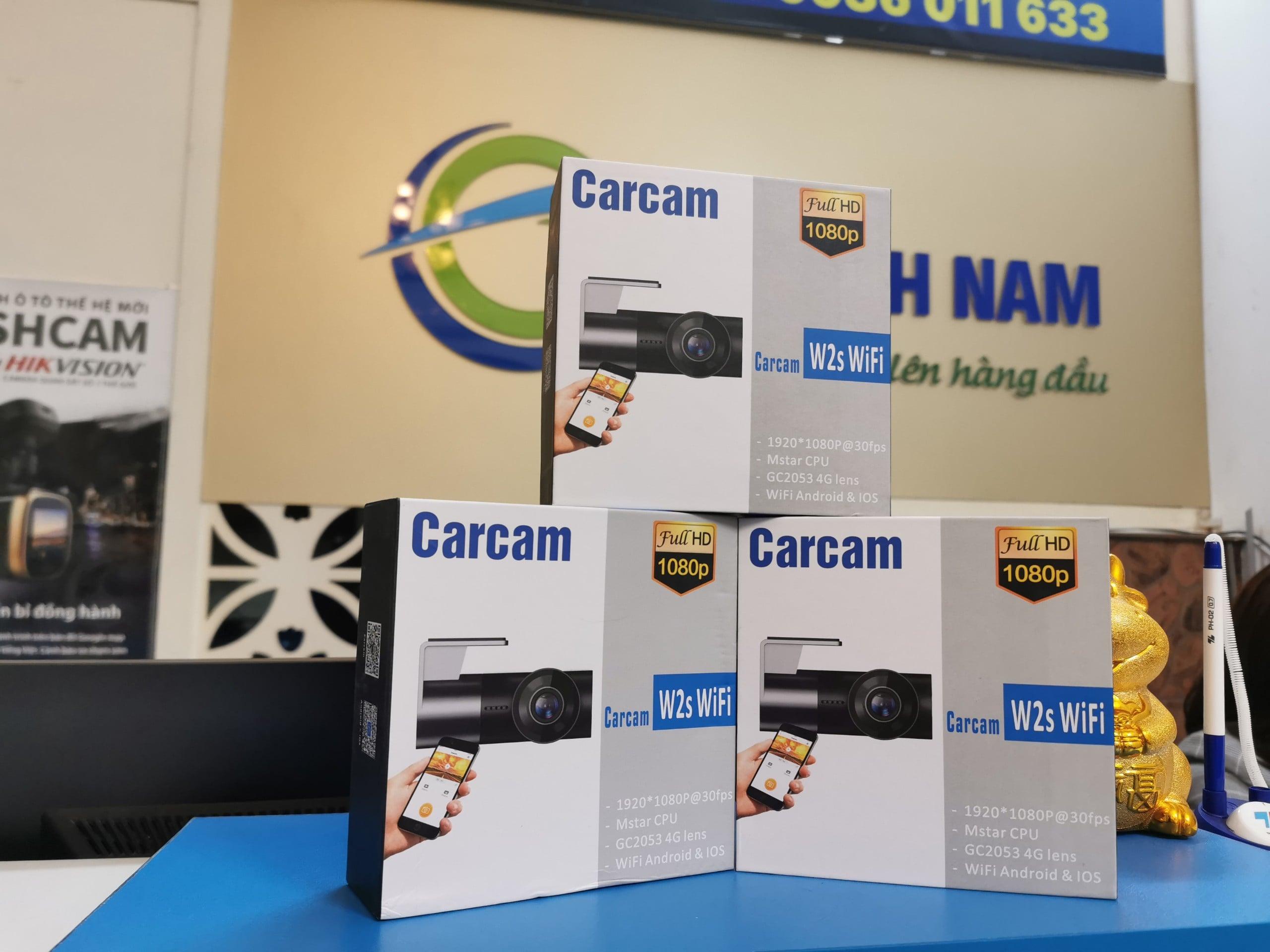 lắp đặt carcam w2s giá rẻ tại thành nam gps