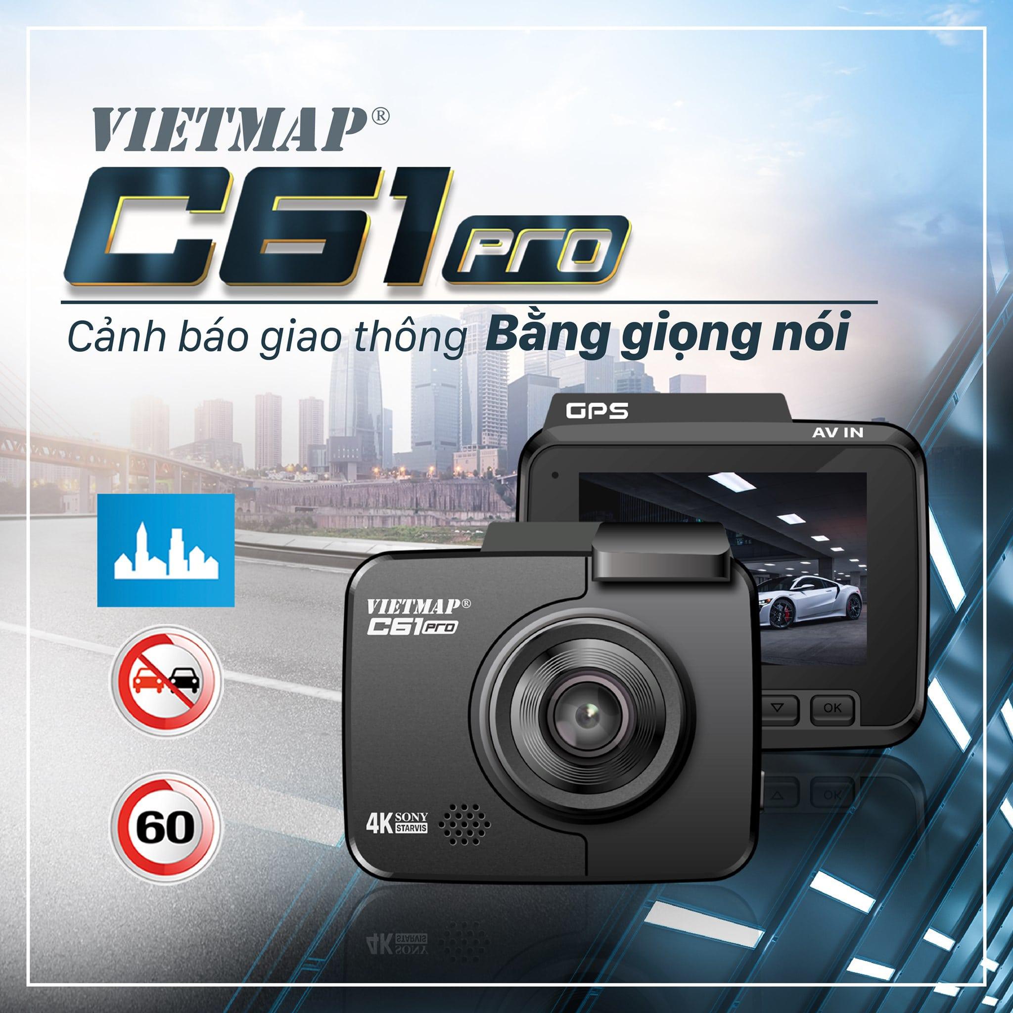 camera cảnh báo giao thông vietmap c61 pro