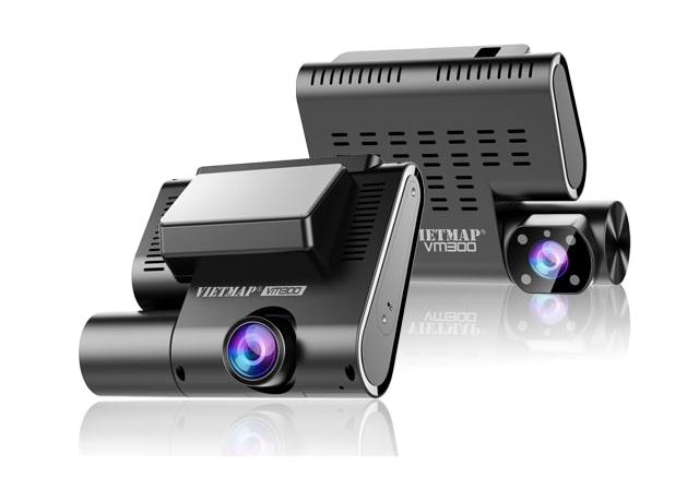 thiết kế hiện đại, kích thước gọn nhẹ của camera vietmap vm300