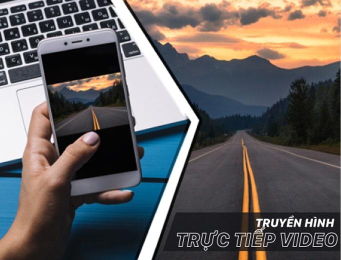 truyền hình trực tuyến video hành trình xe