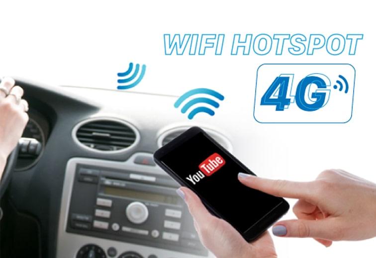 vm300 có khả năng kết nối 4g và phát wifi