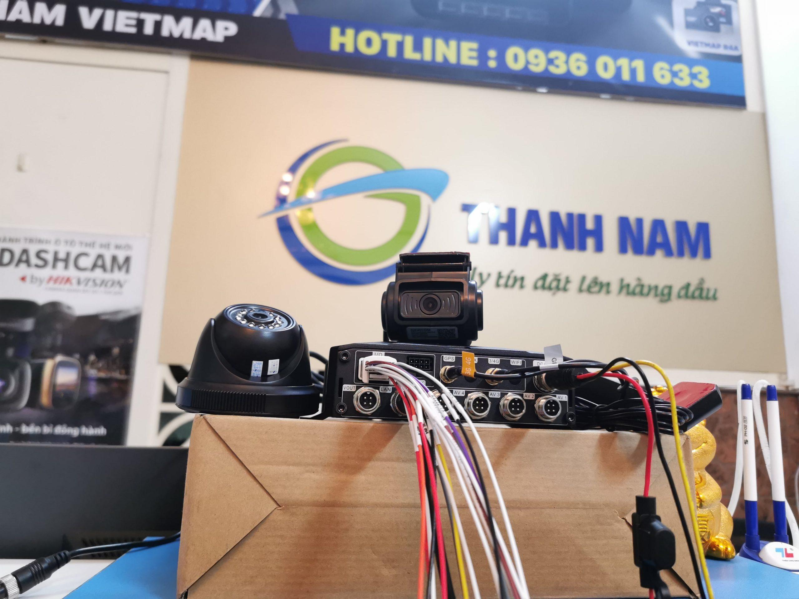 bộ thiết bị ghi hình và giám sát hành trình bằng đầu ghi navicom