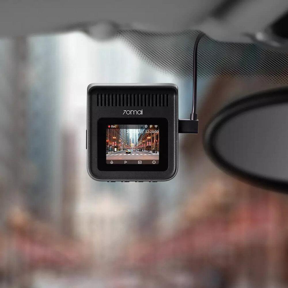 lắp đặt camera hành trình ô tô xiaomi 70mai a400