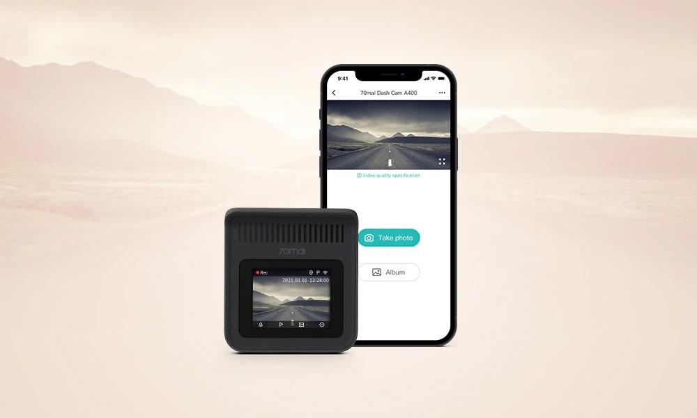 kết nối wifi quản lý camera hành trình trên điện thoại di động