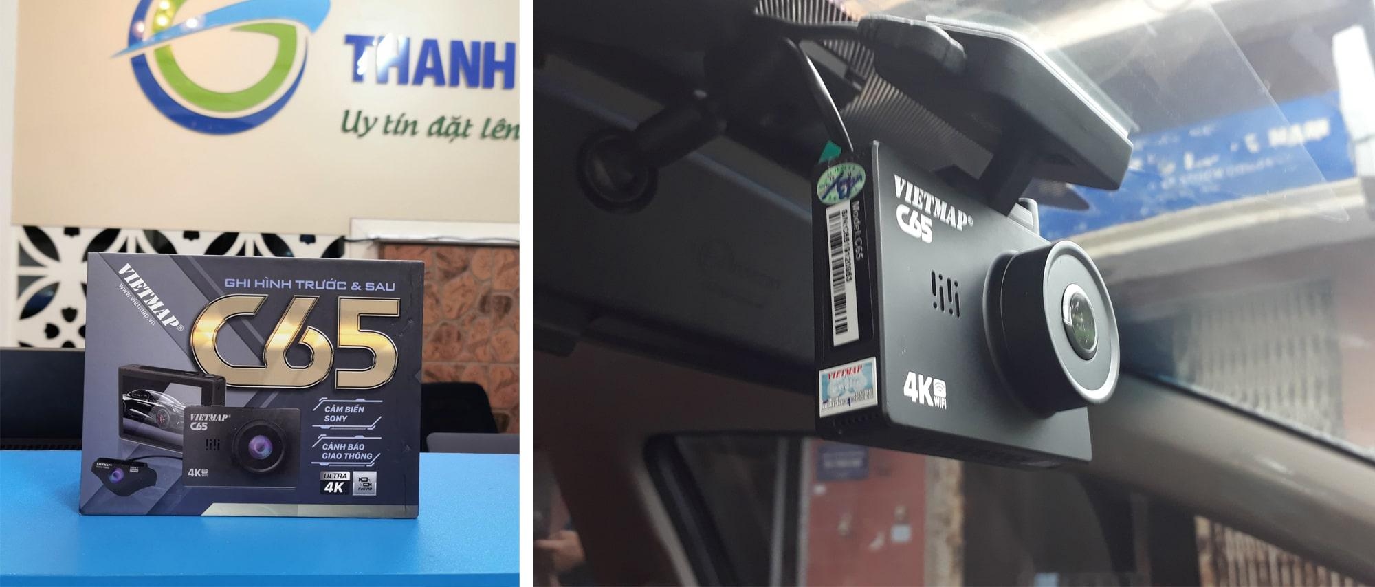 vietmap c65 - top camera hành trình vietmap chất lượng nhất