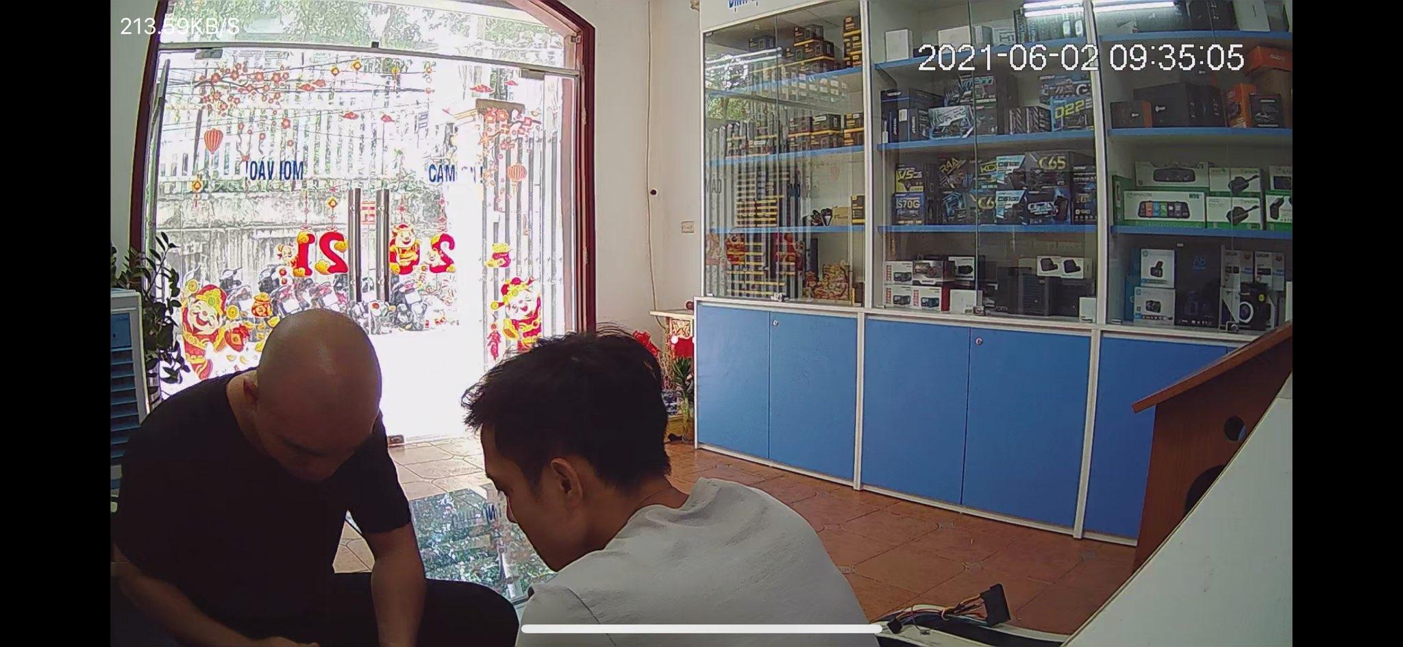 camera giám sát trong nhà ghi hình sắc nét