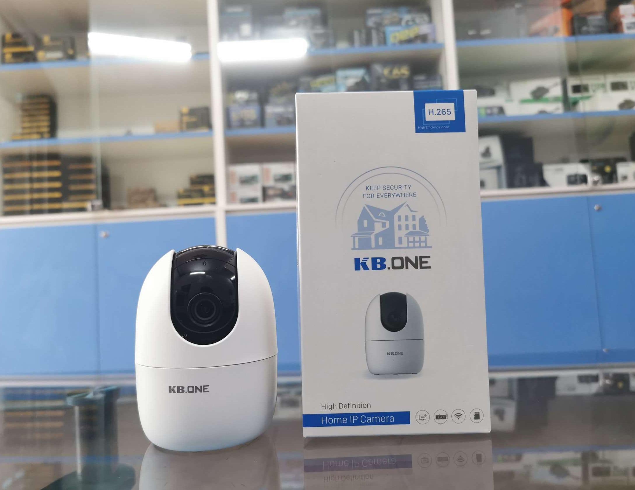 địa chỉ bán camera giám sát 360 độ trong nhà kbone chính hãng