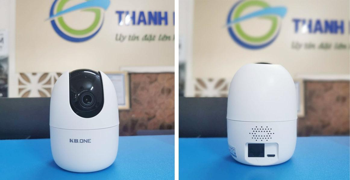 camera giám sát 360 độ trong nhà kbone