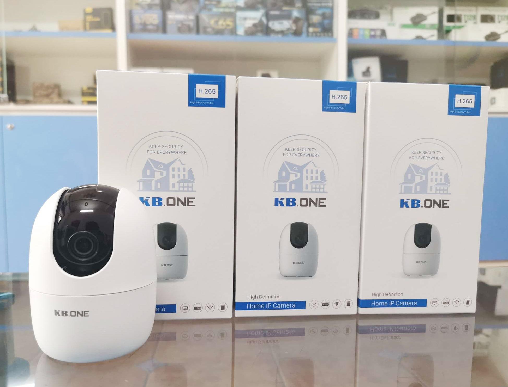 camera 360 độ giám sát trong nhà kbone kn-h21pw