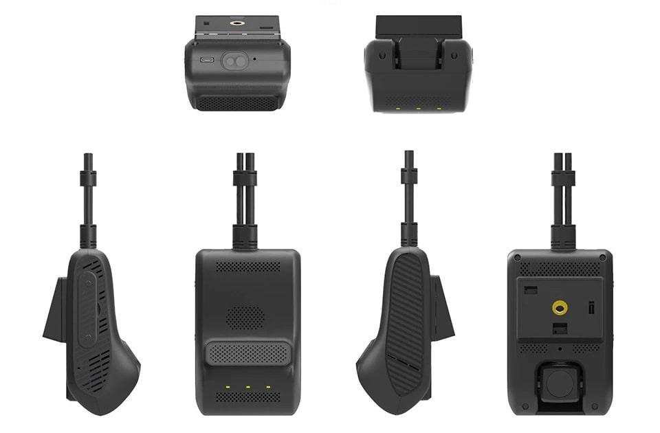 camera giám sát hành trình lắp cho xe khách, xe đầu kéo, xe container tc400
