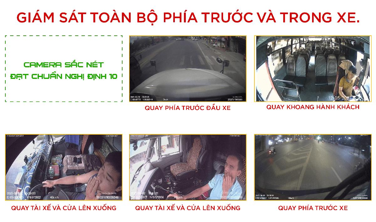 camera hành trình giám sát hành trình trực tuyến