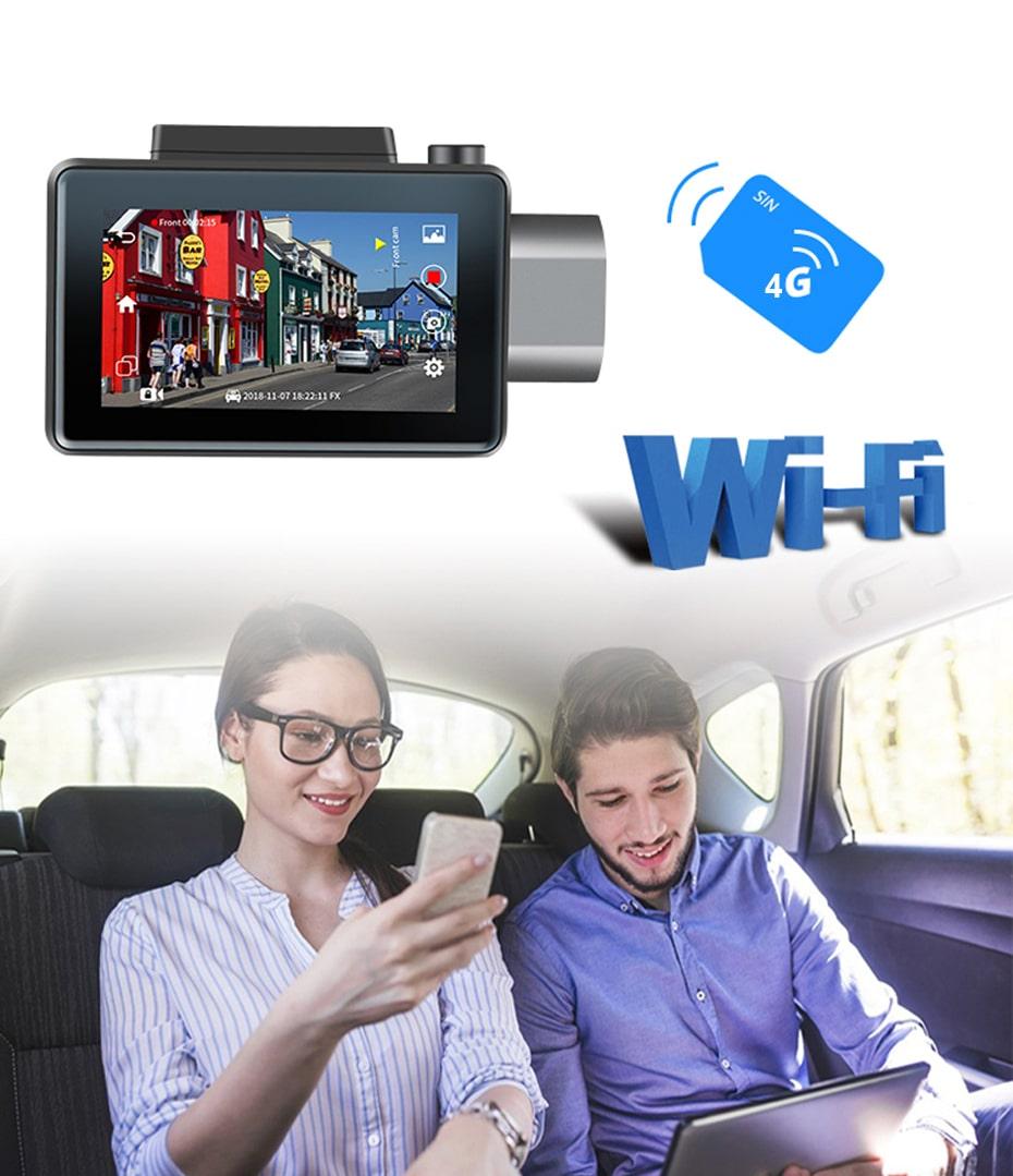 camera hành trình kết nối 4g wifi