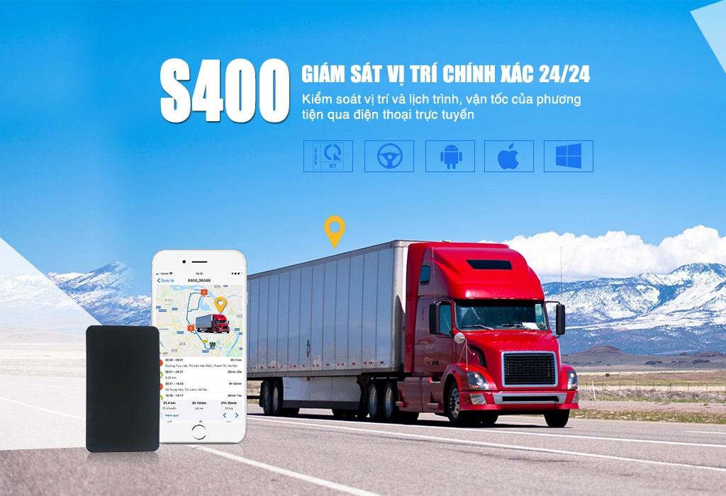 s400 có khả năng giám sát hành trình xe mọi lúc mọi nơi